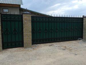 Кованые ворота 31 Арт-металл арт металл в Витебске