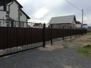 Кованый забор 3 Арт-металл арт металл в Витебске