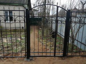 Кованая калитка 39 Арт-металл арт металл в Витебске