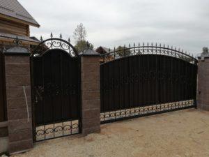 Кованые ворота 37 Арт-металл арт металл в Витебске